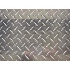 Рифленый алюминиевый лист 4 мм АМГ2н2 алмаз