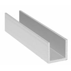 П-образный профиль алюминиевый 20х20х20х2,0 мм АД31Т1