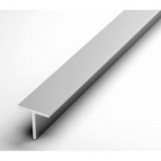 Т-образный профиль алюминиевый 25х25х2 мм Ад31Т1