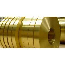 Лента латунная 0,2 мм ЛС59-1 х/к