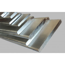 Полоса нержавеющая 100х10 мм AISI 304 г/к, матовая, калиброванная